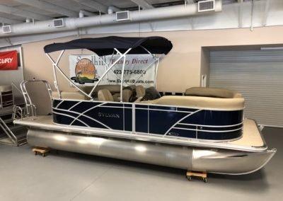2020 Sylvan 8520 Extended Deck